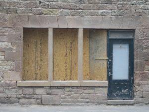 New window stonework